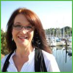 Cheryl Maynard at Swan Town Marina